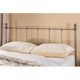 Molly Duo Panel Headboard - Full - Black Steel