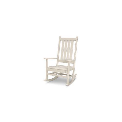 Polywood Furnishings - Vineyard Porch Rocking Chair in Sand