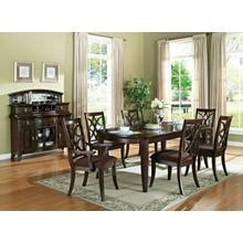 ACME Keenan Dining Table - 60255 - Dark Walnut
