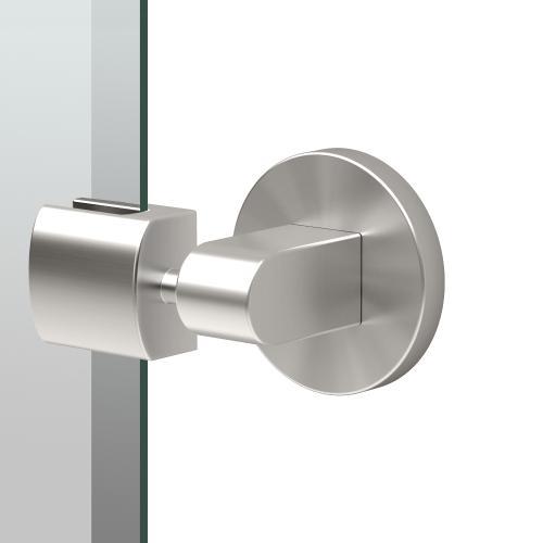 Zone Oval Mirror in Satin Nickel