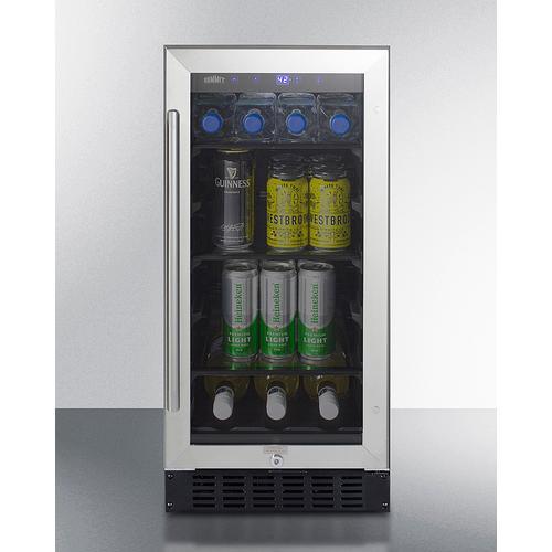 """15"""" Wide Built-in Beverage Center, ADA Compliant"""