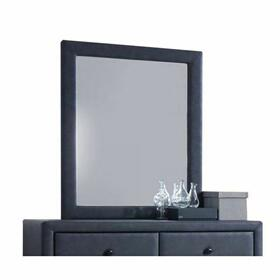 ACME Saveria Mirror - 25664 - 2-Tone Gray PU