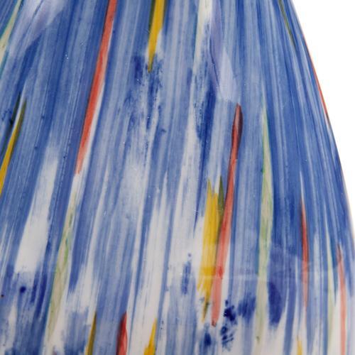 Howard Elliott - Color Blend Ceramic Vase, Wide