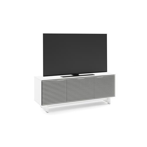 BDI Furniture - Align 7477 Media + Storage Console in Satin White Media Base