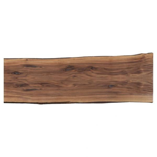 """See Details - Crotch Walnut 72"""" Dining Table Top"""