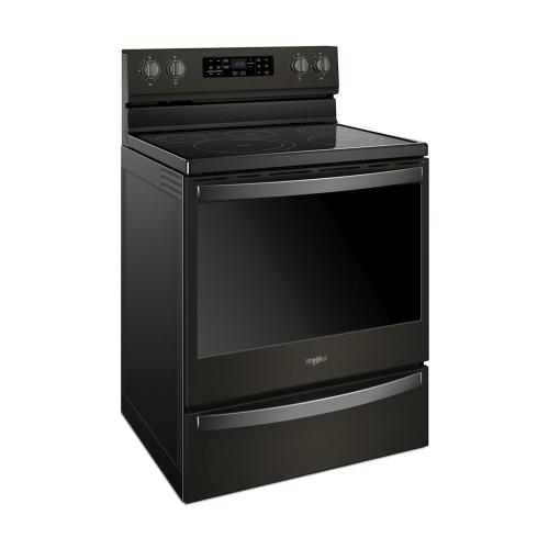 Product Image - 6.4 cu. ft. Freestanding Electric Range with Frozen Bake Technology