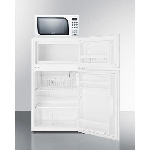 Summit - Microwave/refrigerator-freezer Combination