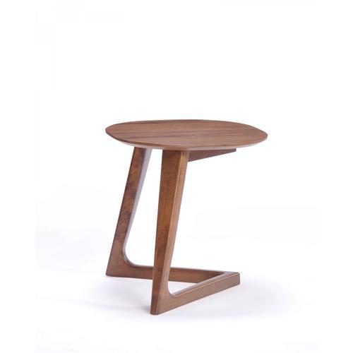 VIG Furniture - Modrest Jett Modern Walnut End Table