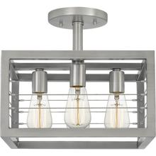 View Product - Awendaw Semi-Flush Mount in Antique Nickel