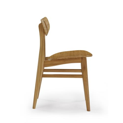 Greenington Fine Bamboo Furniture - Cassia Dining Chair, Caramelized, (Set of 2)