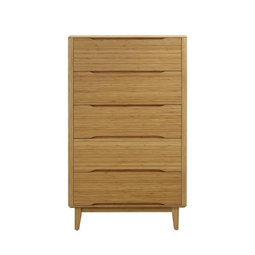 Product Image - Currant Five Drawer High Chest, Caramelized