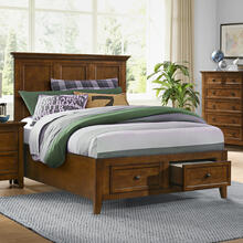 See Details - San Mateo Youth Full Bed  Tuscan