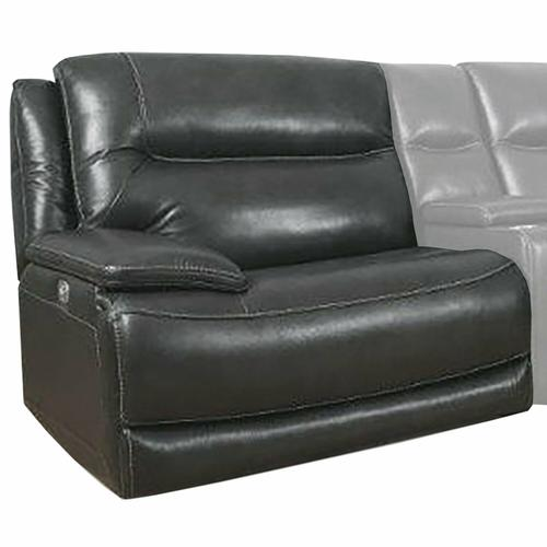 Parker House - COLOSSUS - NAPOLI GREY Power Left Arm Facing Recliner