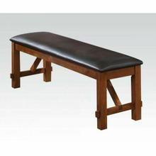 ACME Apollo Bench - 70004 - Espresso PU & Walnut