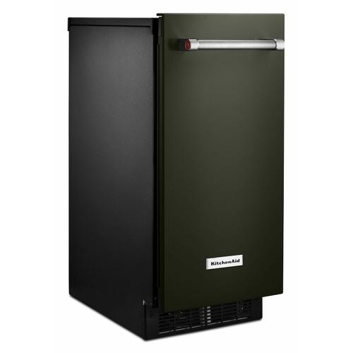 Gallery - KitchenAid® 15'' Automatic Ice Maker with PrintShield™ Finish - Black Stainless Steel with PrintShield™ Finish