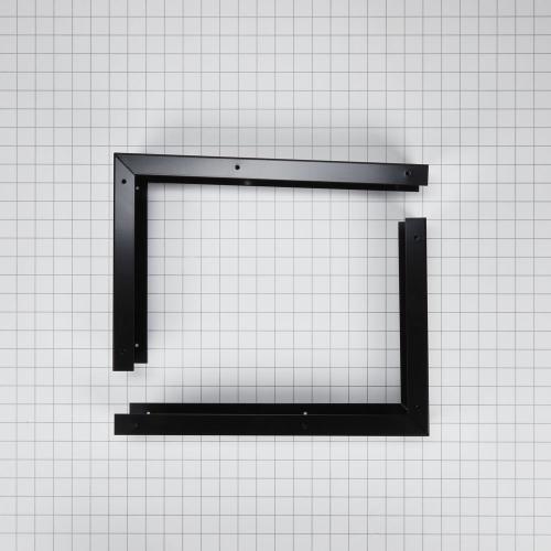 "Whirlpool - 30"" Microwave Hood Filler Kit, Black"