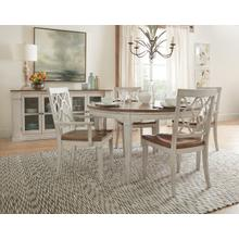 View Product - Montebello 56in Round Dining Table w/ 1-18in leaf