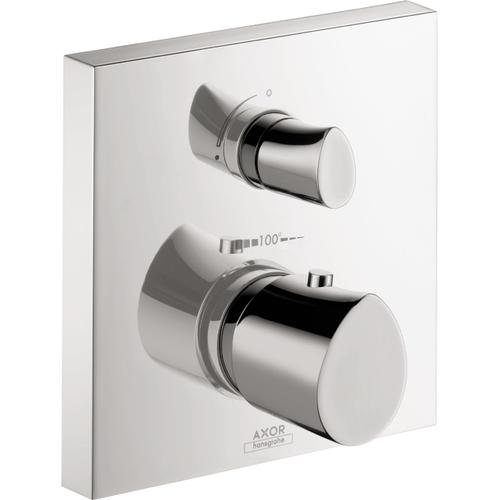 AXOR - Chrome Thermostatic Trim with Volume Control