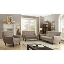 ACME Watonga Sofa - 53710 - Light Brown Linen