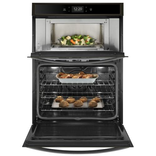 Whirlpool Canada - 5.7 cu. ft. Smart Combination Wall Oven with Touchscreen