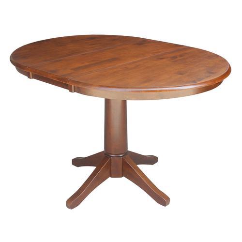 John Thomas Furniture - Round Extension Table in Espresso