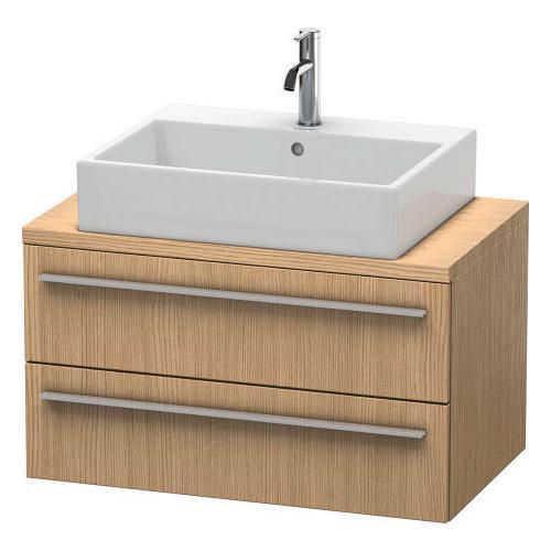Duravit - Vanity Unit For Console Compact, European Oak (decor)