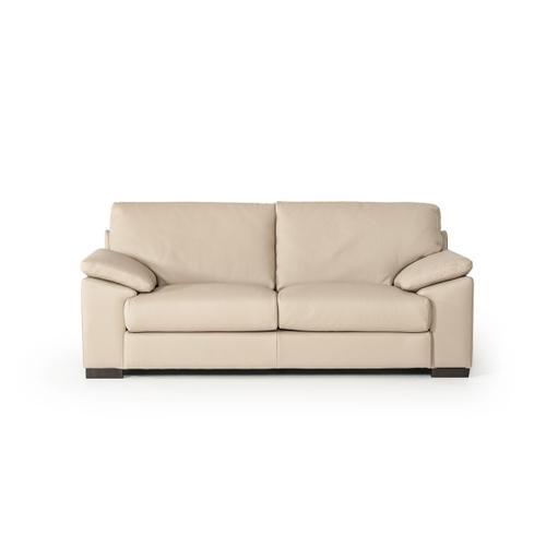 Gallery - Estro Salotti Morris Modern Taupe Leather Sofa Set