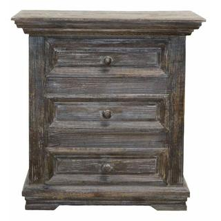 See Details - Barnwood Coliseo/claudia Night Stand