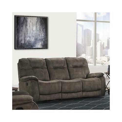 See Details - COOPER - SHADOW BROWN Manual Triple Reclining Sofa