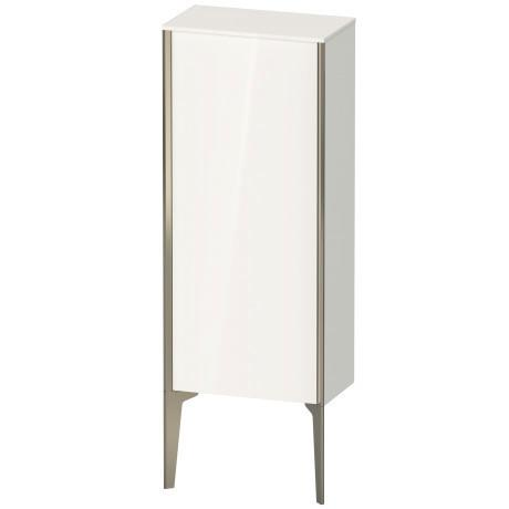 Product Image - Semi-tall Cabinet Floorstanding, White High Gloss (lacquer)
