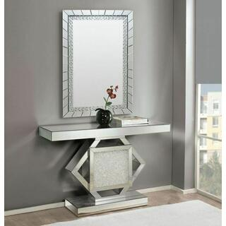 ACME Nowles Console Table - 90234 - Mirrored