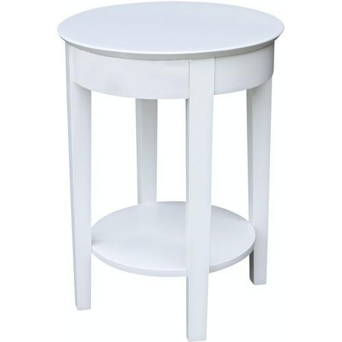 John Thomas Furniture - Phillips Table in Pure White