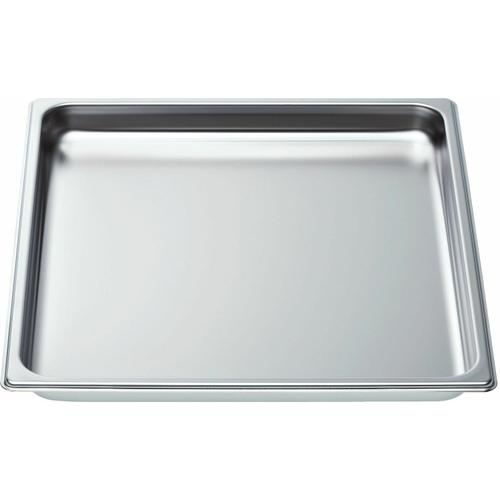 Bosch - Unperforated Steam Oven Baking Tray (Large) HEZ36D352 00664949