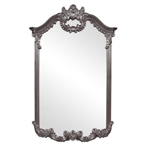 Howard Elliott - Roman Mirror - Glossy Charcoal