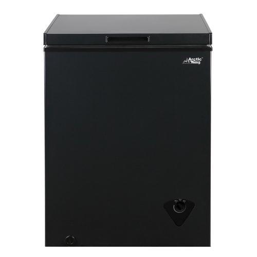 Arctic King 5.0 Cu Ft Chest Freezer Black