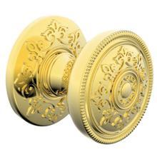 Lifetime Polished Brass K006 Estate Knob