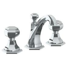 View Product - Deck Mounted 3 Hole Extended Lavatory Set