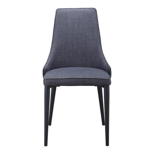 Hazel Dining Chair Dark Grey-m2