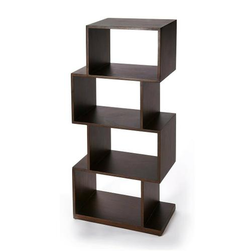The ultra-modern cubical etagere will add style and tons of storage to your home. Its four boxes can be used to display family photos, collectables and trinkets on the many shelf spaces offered by this unique bookcase. Crafted in Mango wood and Mango wood solids it will stand the test of time and will be uilized for many years to come.