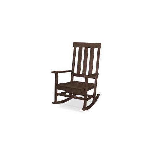 Polywood Furnishings - Prescott Porch Rocking Chair in Mahogany