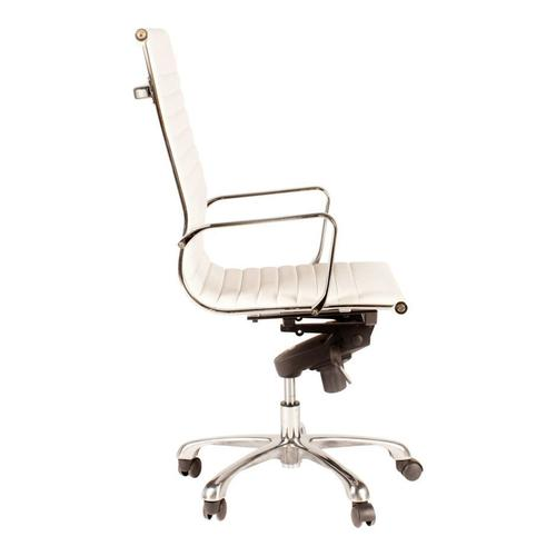 Moe's Home Collection - Omega Swivel Office Chair High Back White