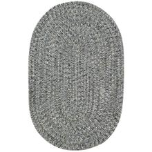 Sea Glass Smoky Quartz Braided Rugs