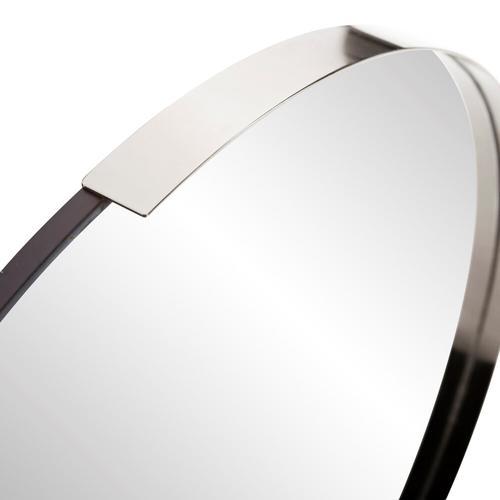 Howard Elliott - Dante Round Silver Mirror