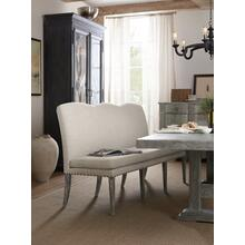 See Details - Beaumont Upholstered Dining Bench