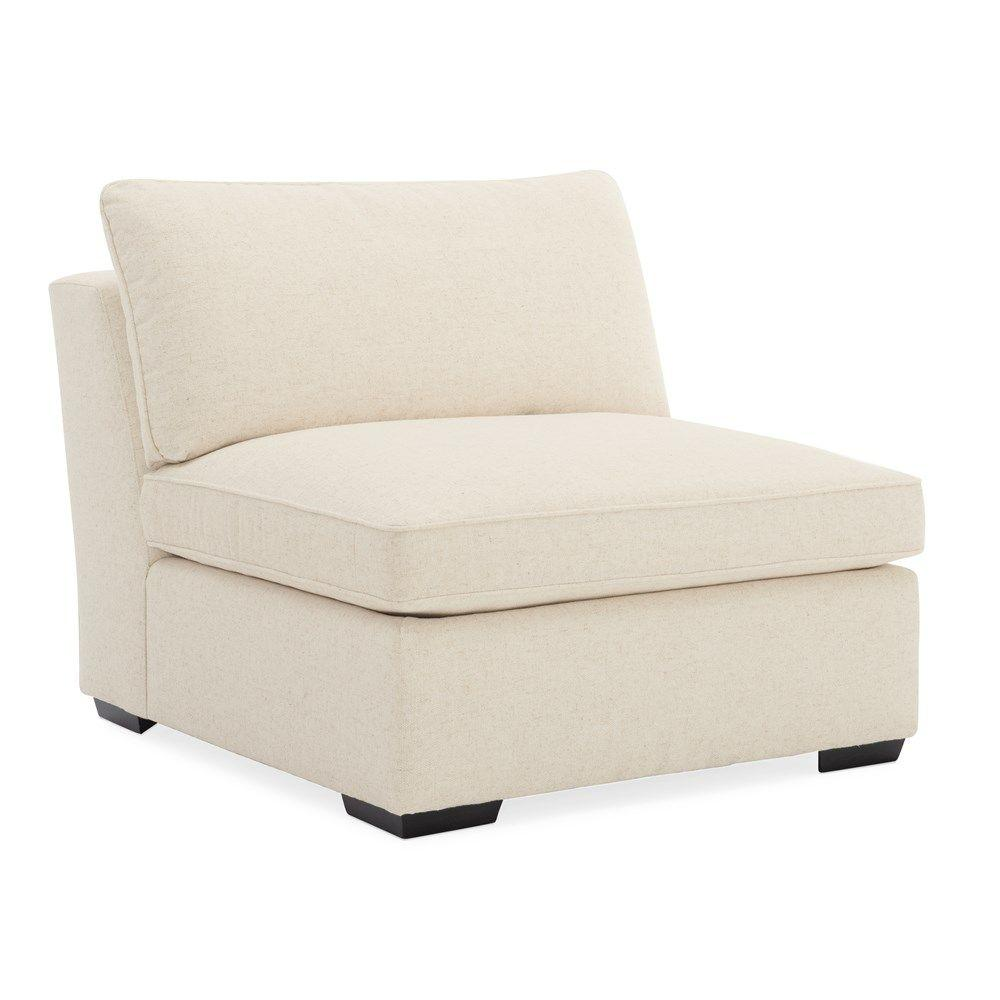 See Details - Back On Track Armless Chair