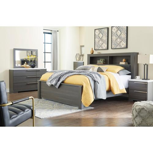 Foxvale - Gray/White 3 Piece Bed (King)