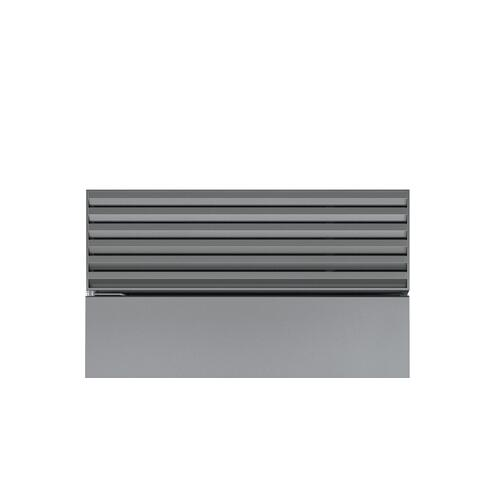 Stainless Steel Pro Louvered Grille - 83""