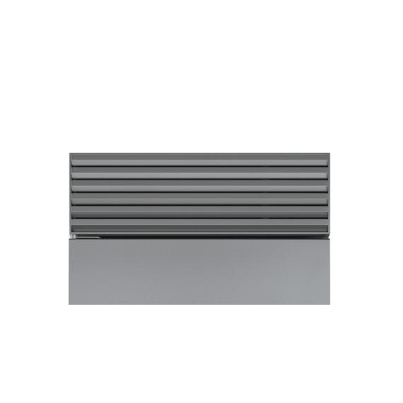 """Sub-Zero - Stainless Steel Pro Louvered Grille - 88"""""""
