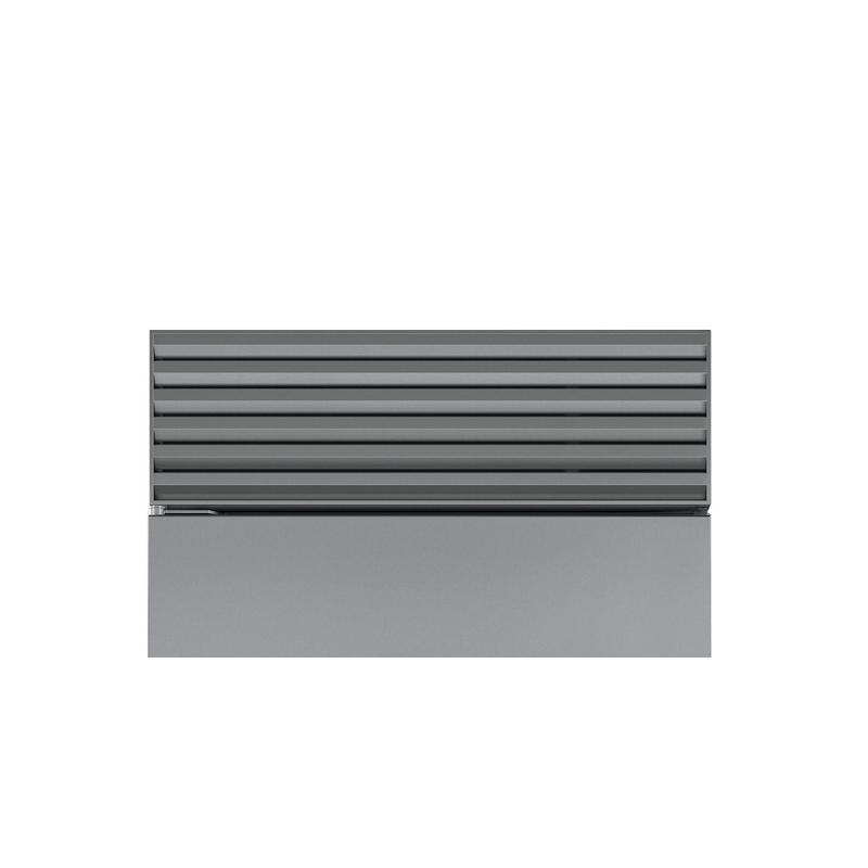"""Stainless Steel Pro Louvered Grille - 88"""""""