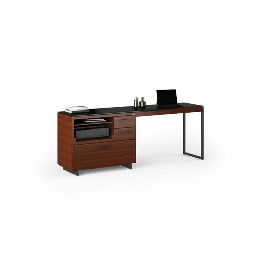 BDI Furniture - Sequel 20 6112 Return in Chocolate Walnut Black